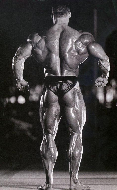 "Mr Olympia - Dorian Yates ""The Shadow"""